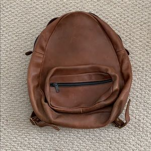 Vintage Leather Backpack (best offer)
